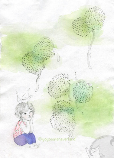 喪禮上的花:唐棉