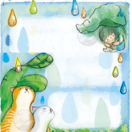 <字的小詩>/雨